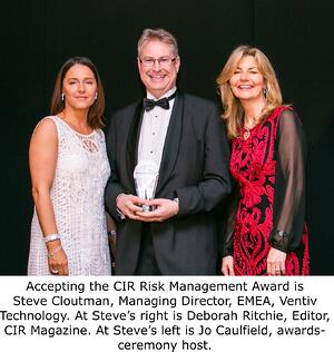 Cloutman_accepts_2015_CIR_Risk_Management_Award_cropped